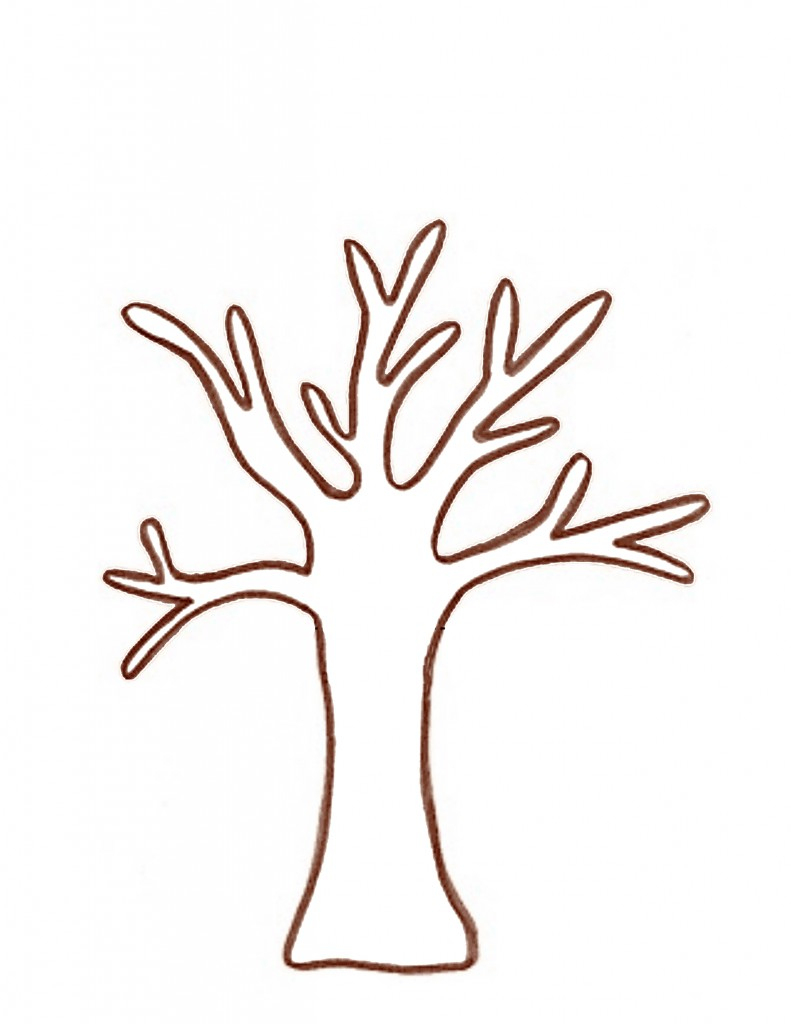 Free Tree Template, Download Free Clip Art, Free Clip Art On Clipart - Free Printable Tree Template
