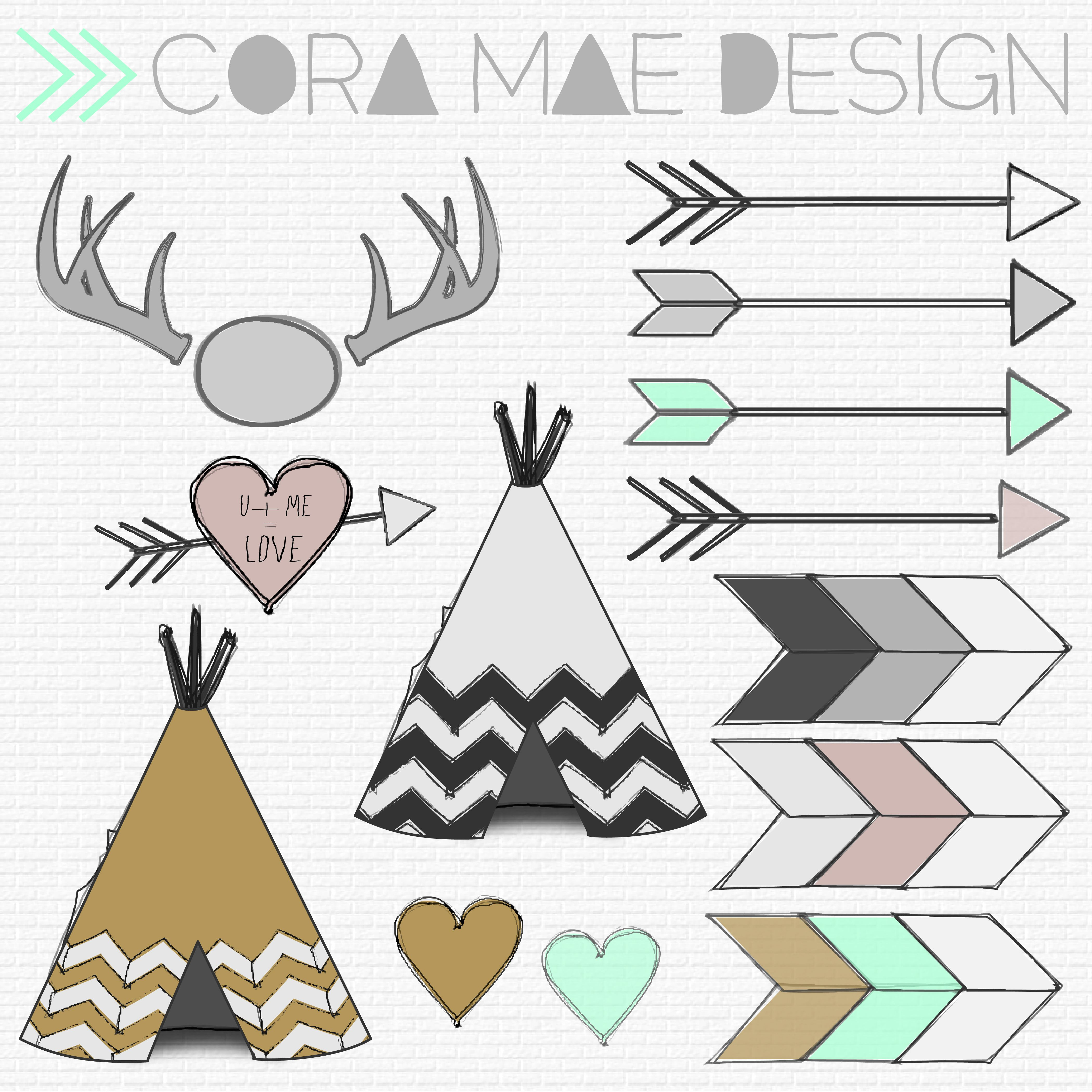 Free Tribal Clipart | Fonts | Pinterest | Tribal Baby Shower, Clip - Free Printable Teepee
