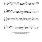 Free Trumpet Sheet Music   The Sailor's Hornpipe   Free Printable Sheet Music For Trumpet