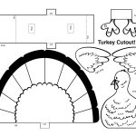 Free Turkey Template Cut Out   Natashamillerweb   Free Turkey Cut Out Printable