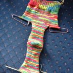 Free!) Two Needle Socks Knit Pattern. Killer Crafts & Crafty Killers – Free Printable Fleece Sock Pattern