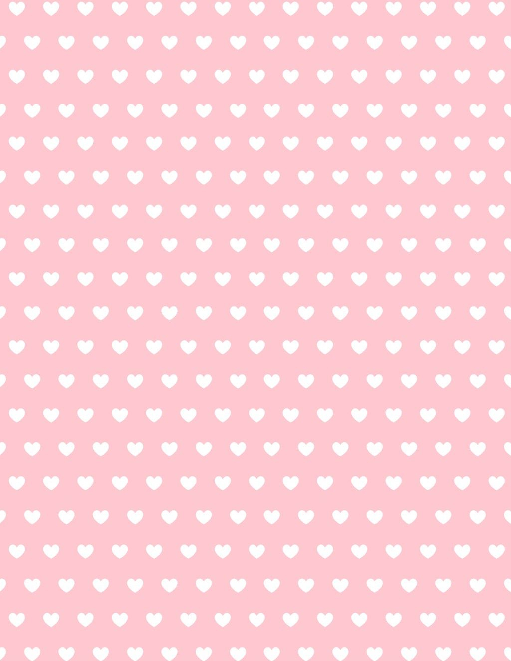 Free Valentine Hearts Scrapbook Paper | Perfect Student - Free Printable Heart Designs