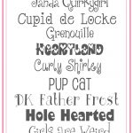 Free Valentines Fonts!   Free Printable Fonts