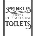 Free Vintage Bathroom Printables   Printables **   Pinterest   Free Printable Funny Posters
