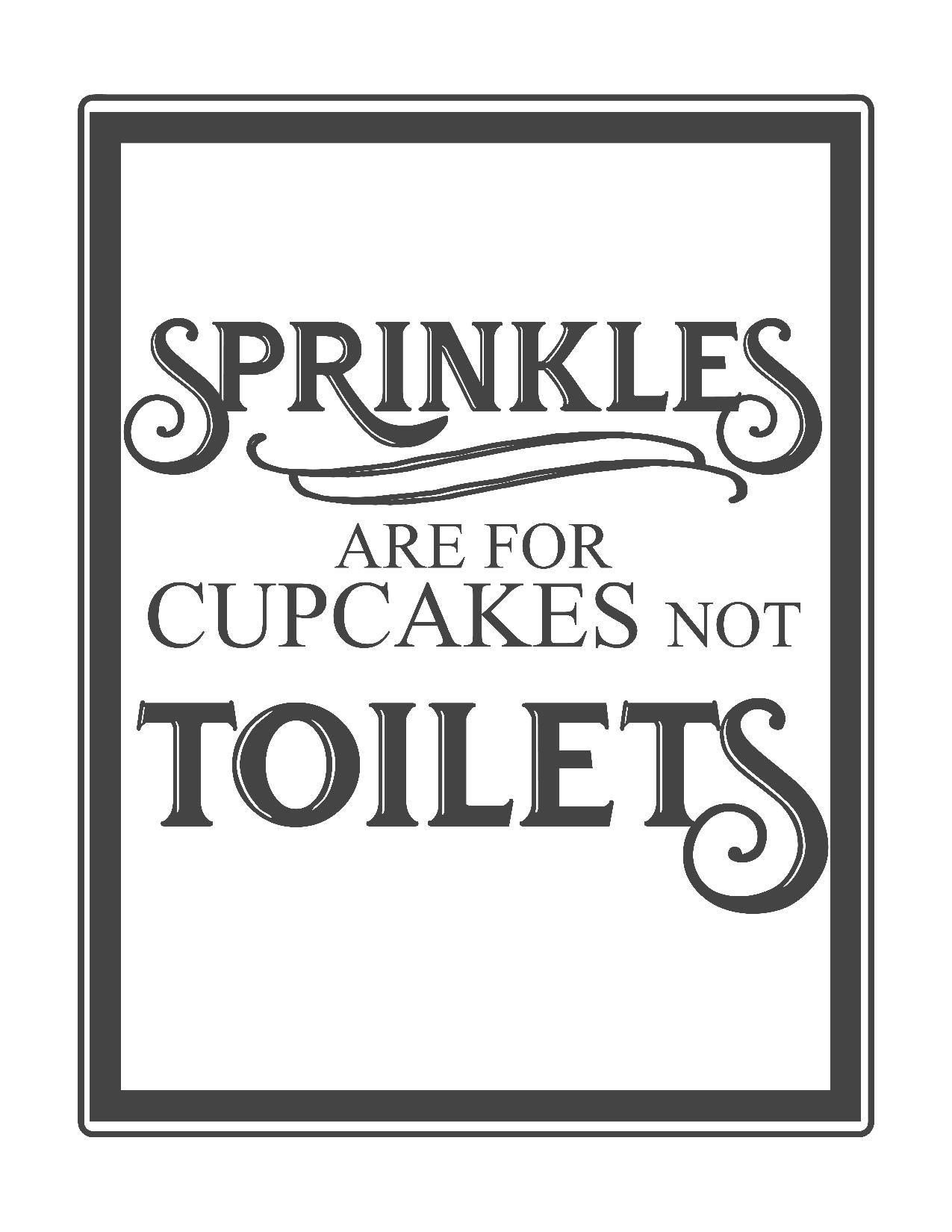 Free Vintage Bathroom Printables | Printables ** | Pinterest - Free Printable Funny Posters