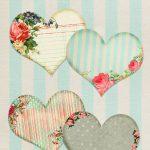 Free Vintage Printable Hearts   Free Pretty Things For You   Free Printable Vintage Pictures