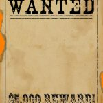 Free Wanted Poster Template Download Clean Free Printable Wanted   Free Printable Flynn Rider Wanted Poster