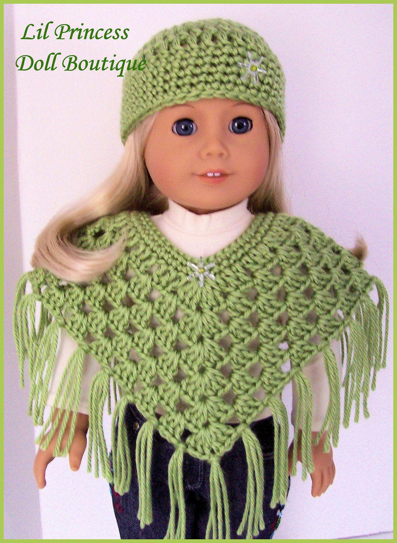 Free+Pattern+Collar+Crochet+American+Girl+Doll | Crochet American - Free Printable Crochet Doll Clothes Patterns For 18 Inch Dolls