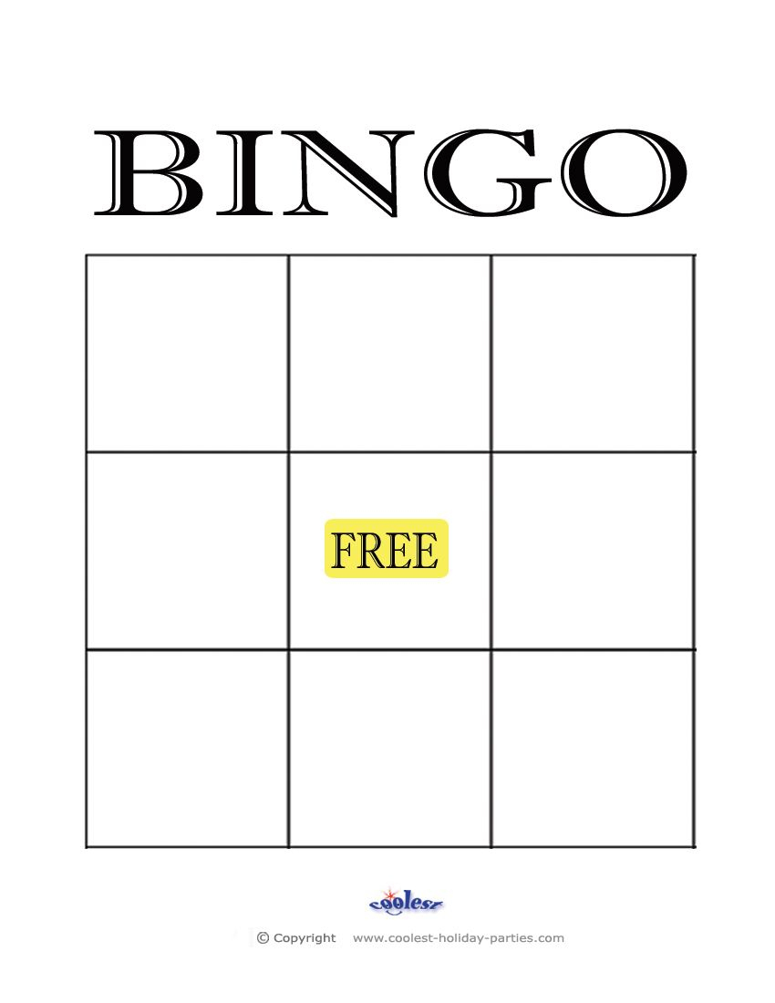 Free+Printable+Blank+Bingo+Cards+Template | Kidsrock - Free Printable Blank Bingo Cards