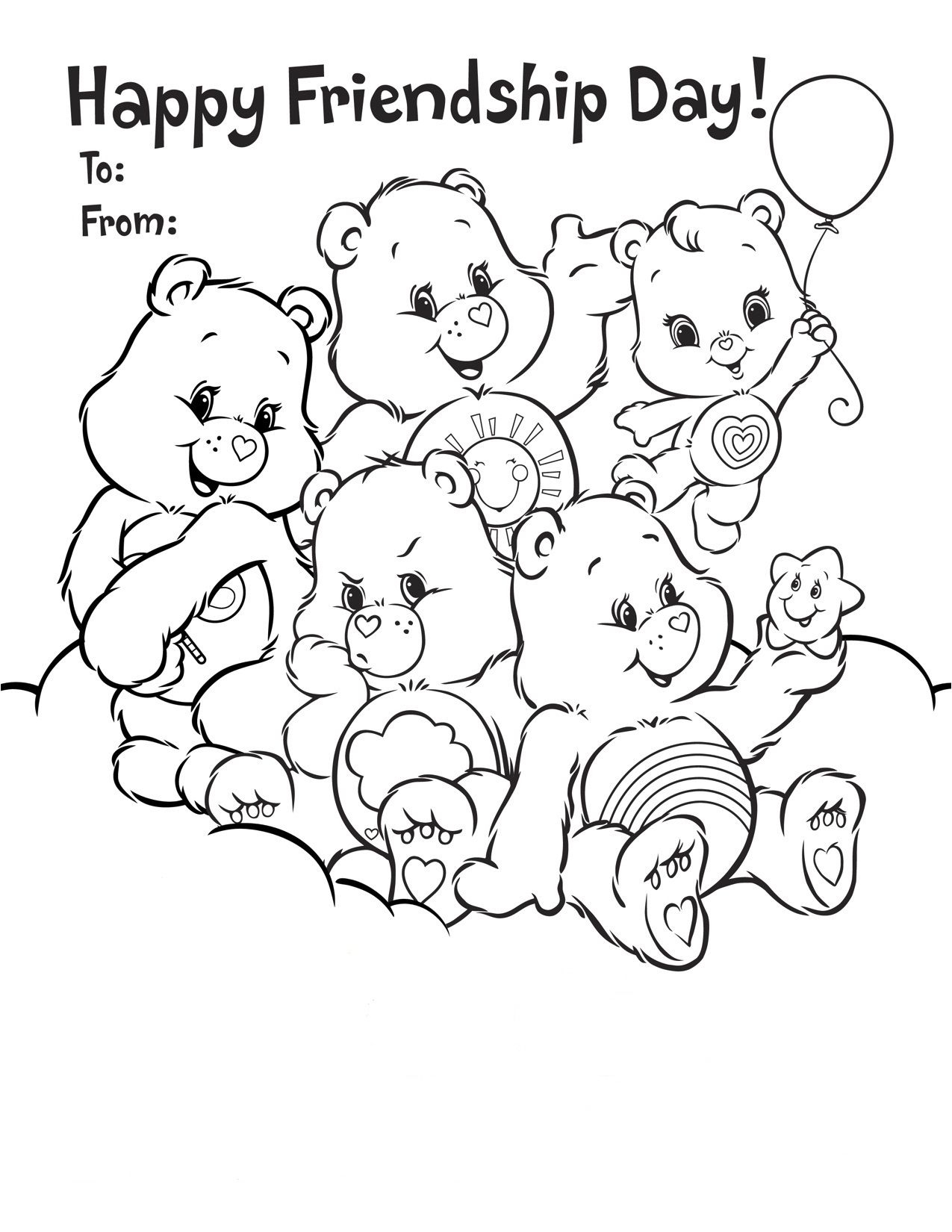 Friendship+Coloring+Pages+Printable   Coloring Pages   Pinterest - Free Printable Bff Coloring Pages