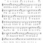 Frosty The Snowman | Free Xmas Music Scores/sheets | Pinterest   Free Printable Frosty The Snowman Sheet Music