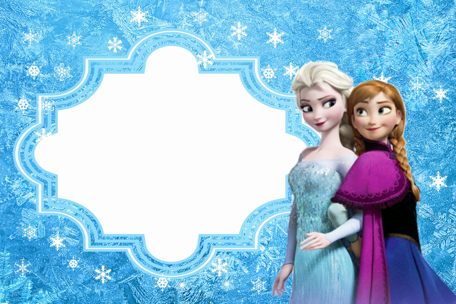 Frozen: Free Printable Cards Or Party Invitations. | Oh My Fiesta - Free Printable Frozen Birthday Invitations
