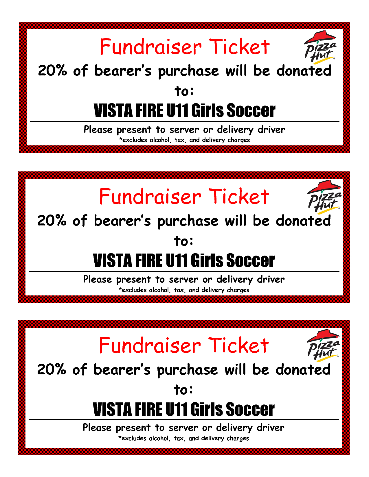 Fundraiser Ticket Template Free Download Plumbers Invoice Best - Free Printable Tickets