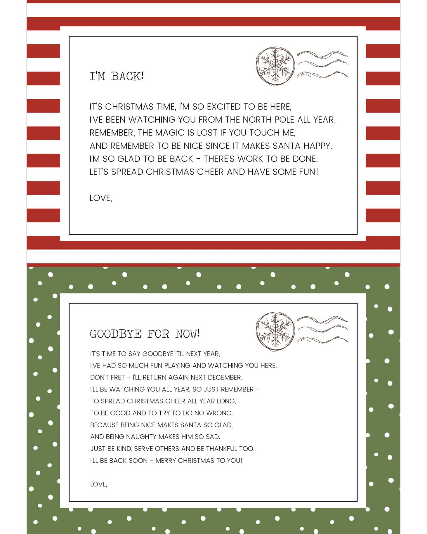 graphic about Printable Elf on the Shelf Goodbye Letter named Amusing Elf Upon The Shelf Suggestions + No cost Printables Lil Luna