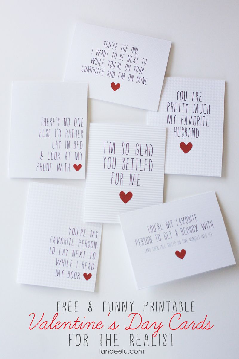 Funny Printable Valentine's Day Cards | Valentines Day | Pinterest - Free Valentine Printable Cards For Husband