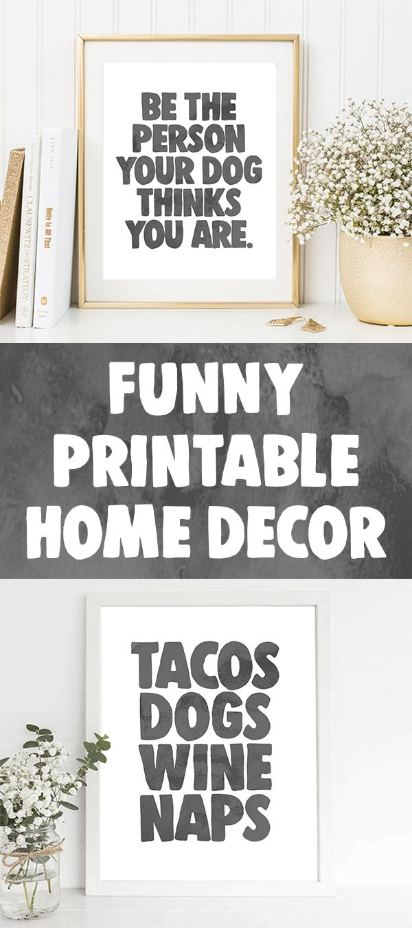 Funny Quotes | Emerald And Mint Designs | Funny Wall Art, Home Decor - Free Printable Funny Signs