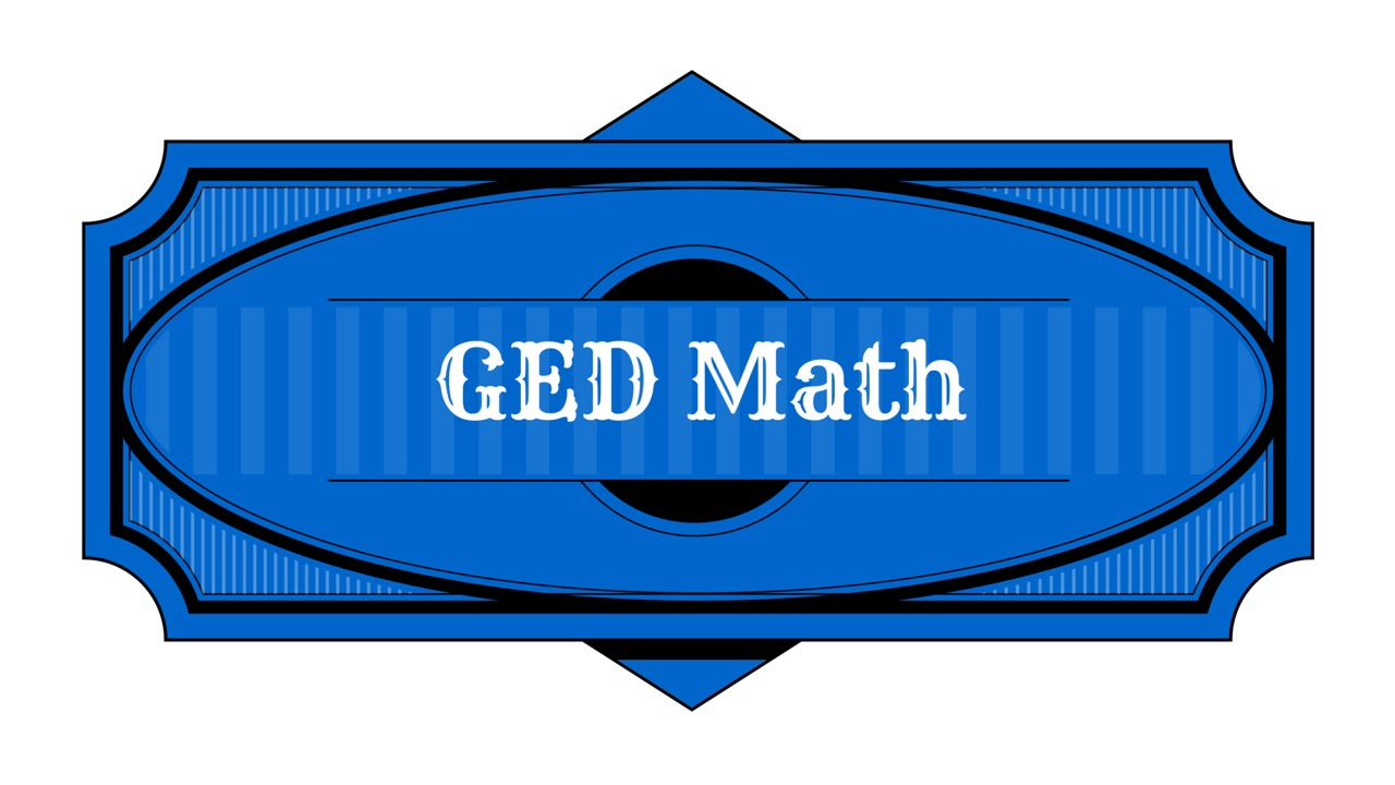 Ged Math Preparation [2018] Study Guide - Youtube - Free Printable Ged Flashcards