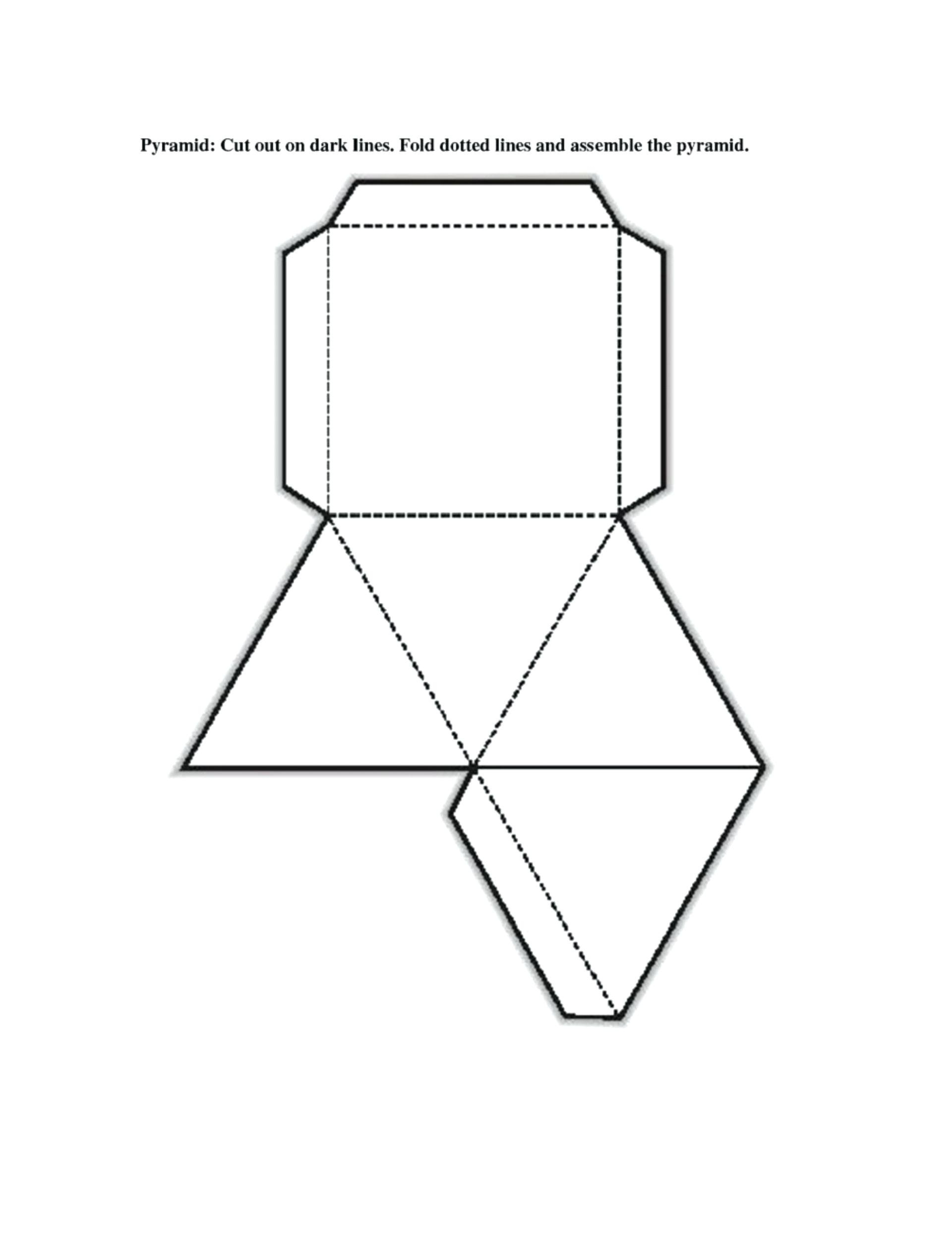Geometric Net Printables Free Printable Shape Nets Template Intended - Free Shape Templates Printable