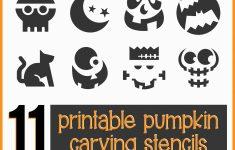 Free Printable Pumpkin Carving Stencils For Kids