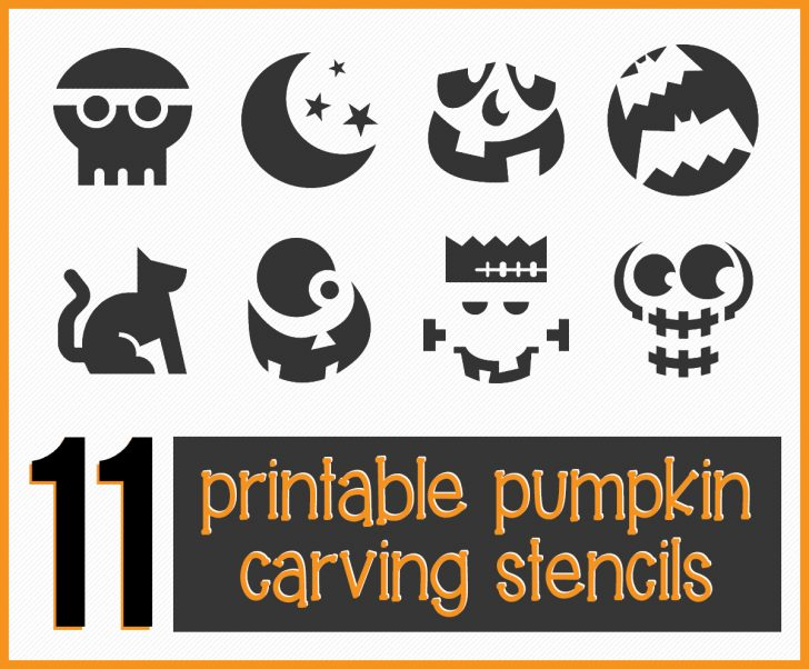 Free Printable Pumpkin Carving Stencils For Kids