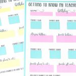 Get To Know My Teacher Free Printable Questionnaire   All About My Teacher Free Printable