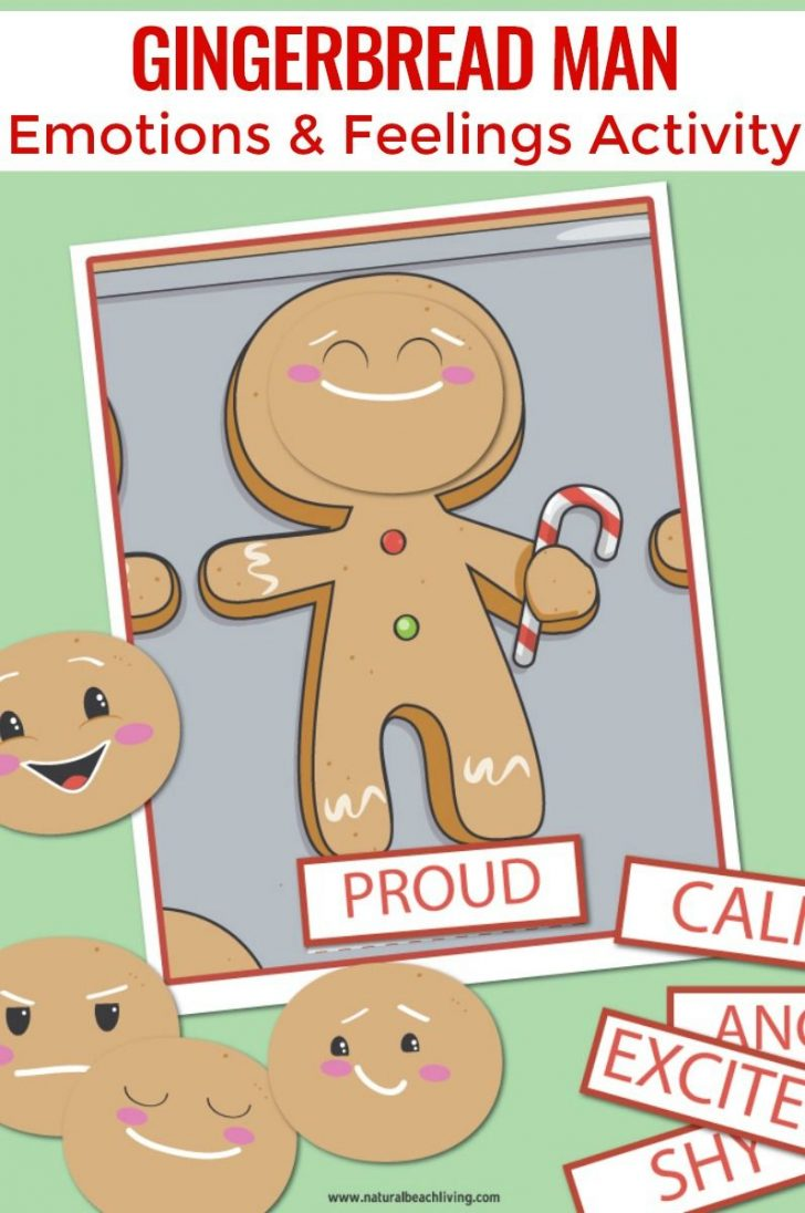 Free Printable Gingerbread Man Activities