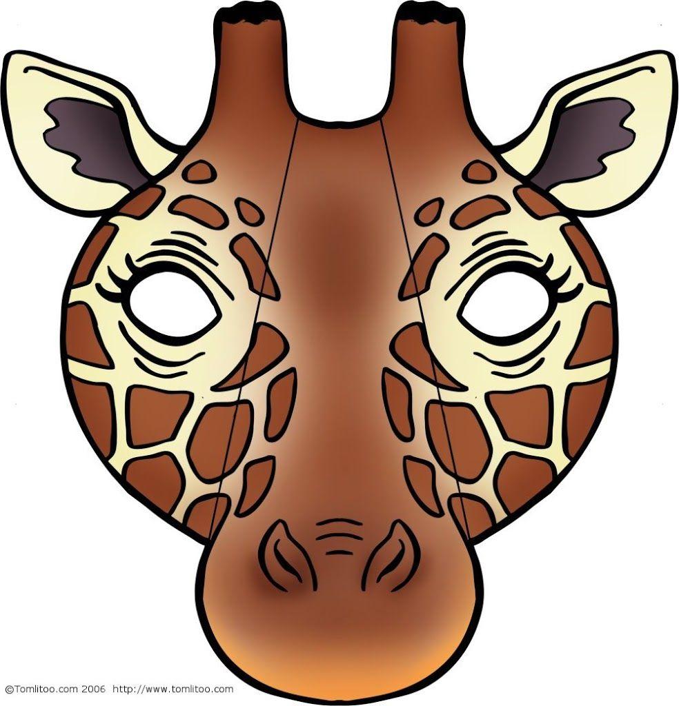 Giraffe Mask | Masks Be Anyone Or Anything Free Printable - Giraffe Mask Template Printable Free