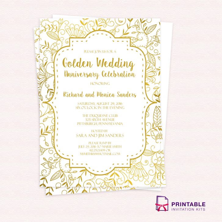 Free Printable Wedding Invitation Kits