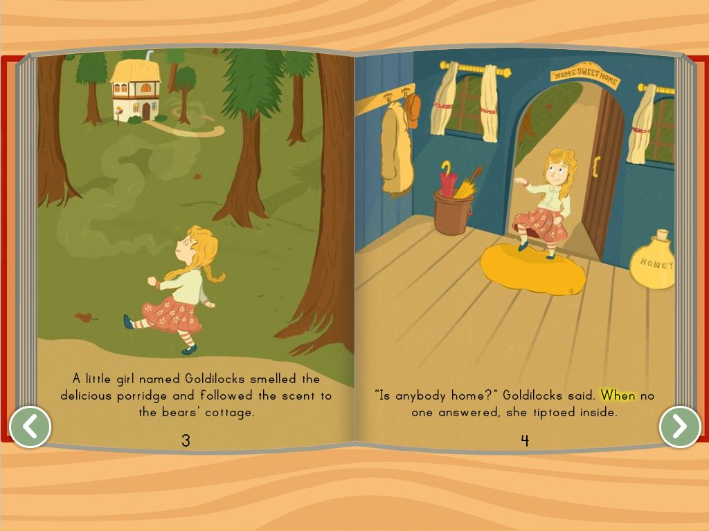 Goldilocks And The Three Bears Story | Story | Education - Free Printable Goldilocks And The Three Bears Story