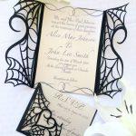 Gothic Halloween Wedding Party Invitation Set On Etsy   Would Make   Free Printable Halloween Wedding Invitations