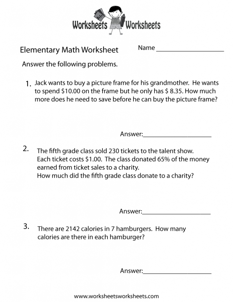 Grade 9Th Grade Math Worksheets Pdf 7Th Grade Math Word Problems - Free Printable Math Word Problems For 2Nd Grade
