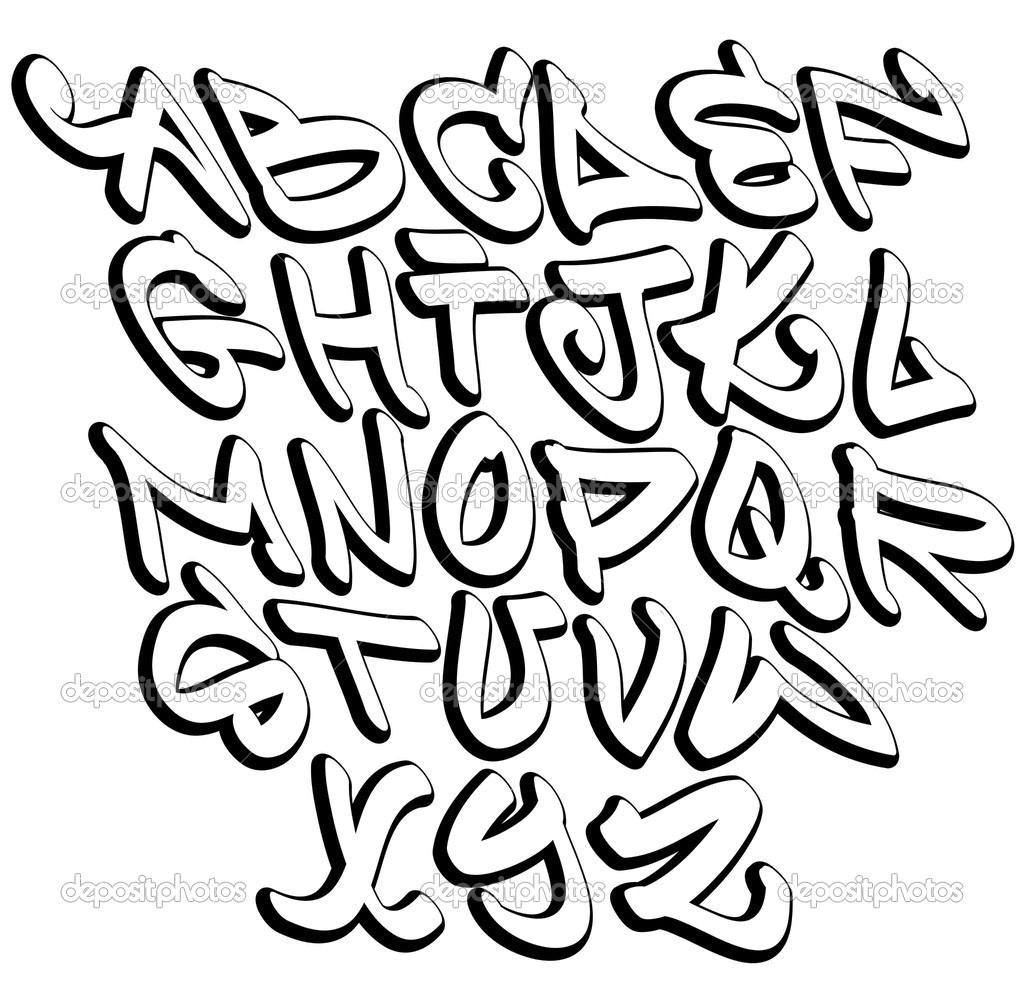 Graffiti Letters A Z - Free Printable Graffiti Letters Az
