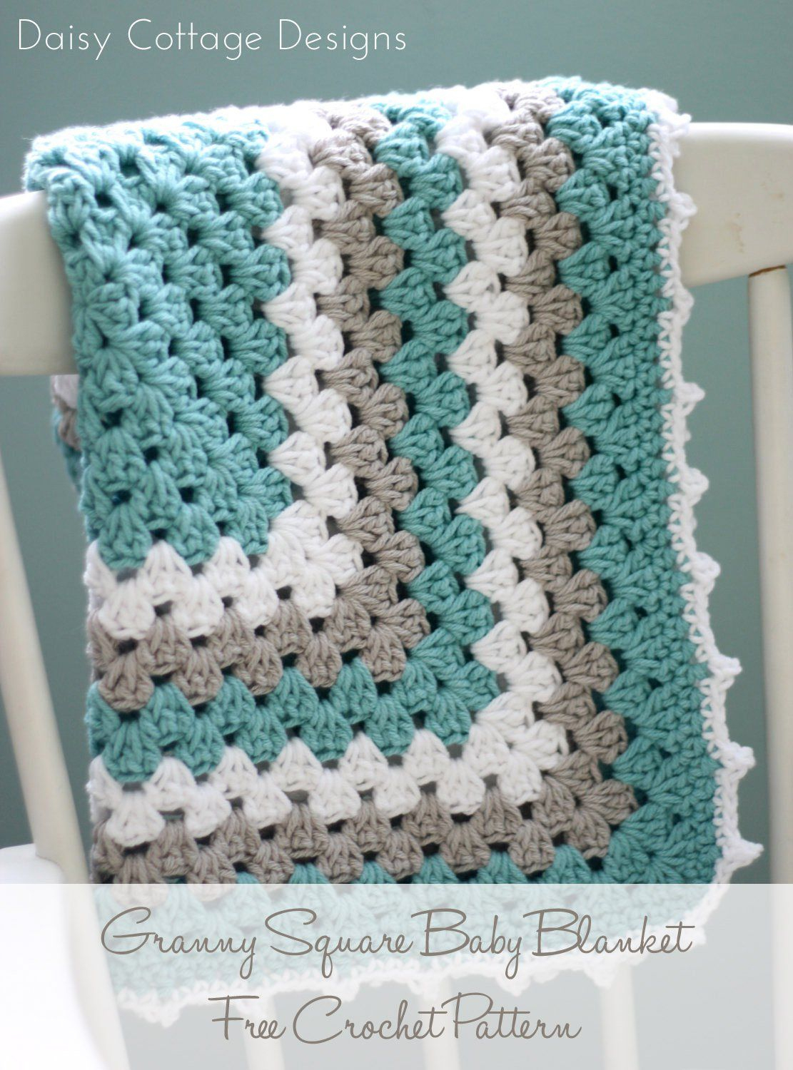 Granny Square Pattern - A Free Crochet Pattern | Best Of Daisy - Free Printable Crochet Granny Square Patterns