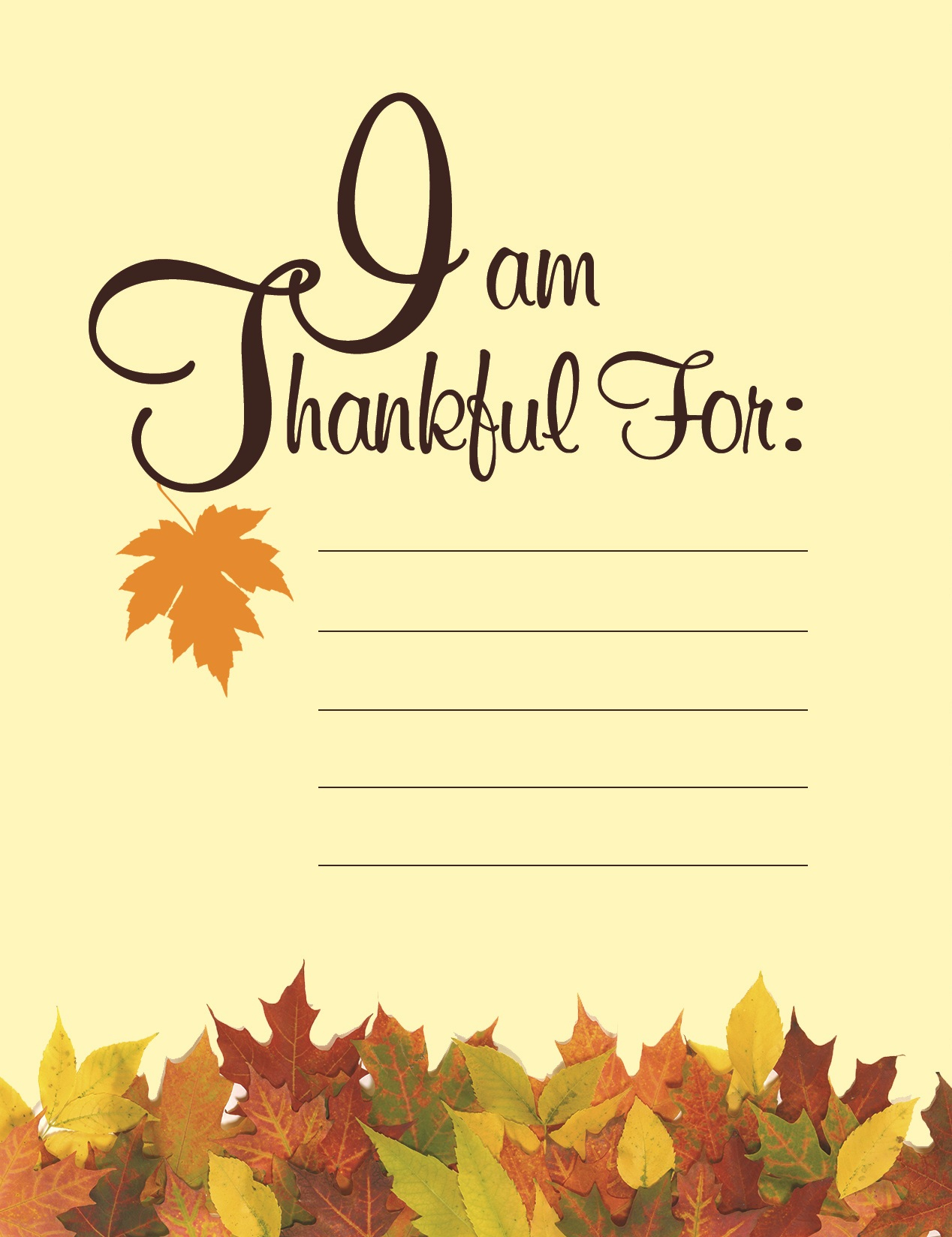 Gratitude This Thanksgiving | American Greetings Blog - Free Printable Greeting Card Sentiments