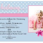 Great Free Baptism Templates For Printable Invitations Photos. Girl   Free Printable Baptism Greeting Cards