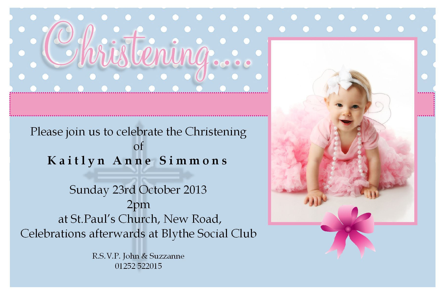 Great Free Baptism Templates For Printable Invitations Photos. Girl - Free Printable Baptism Greeting Cards