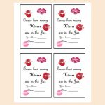 Guess How Many Kisses There Are In A Jar   Magical Printable   How Many Kisses Game Free Printable