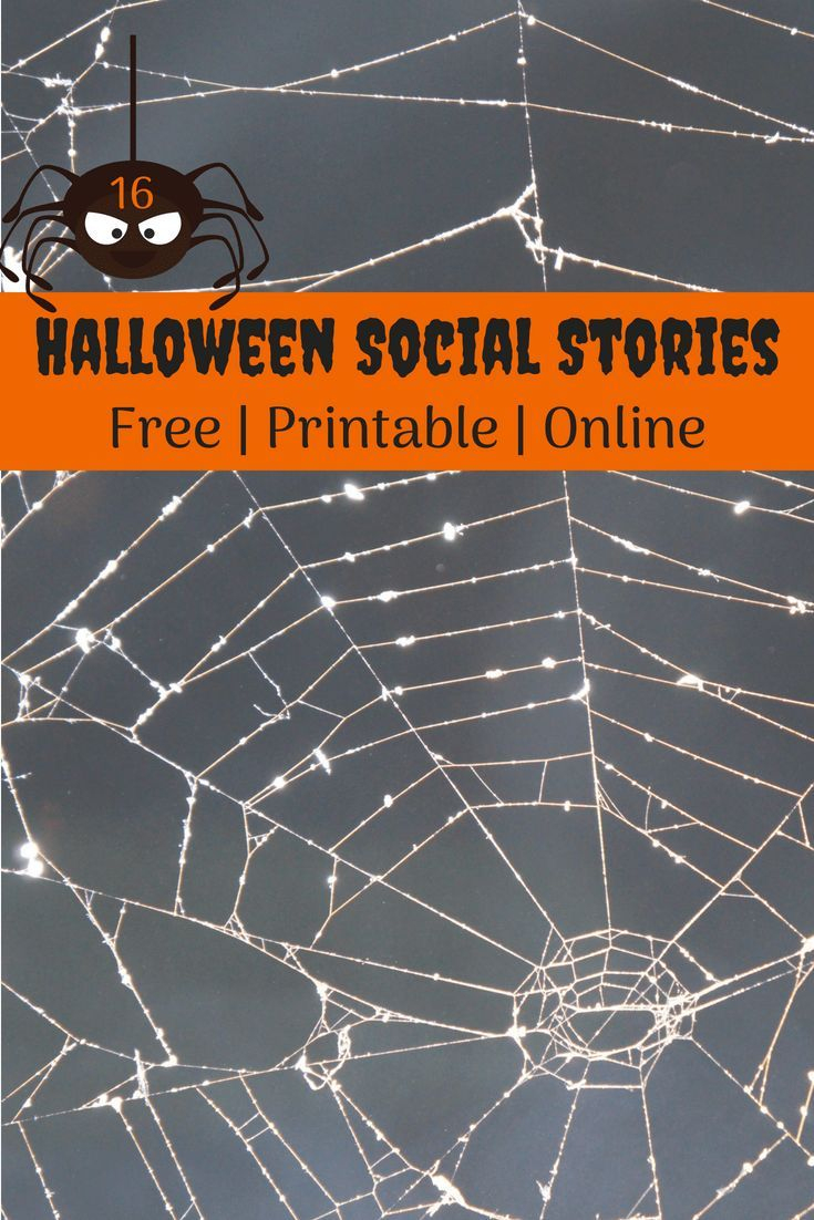 Halloween} 16 Free, Printable Social Stories For Autism | Autism - Free Printable Social Stories
