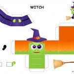 Halloween | Free Halloween Printables And Halloween Decorations   Free Printable Halloween Paper Crafts