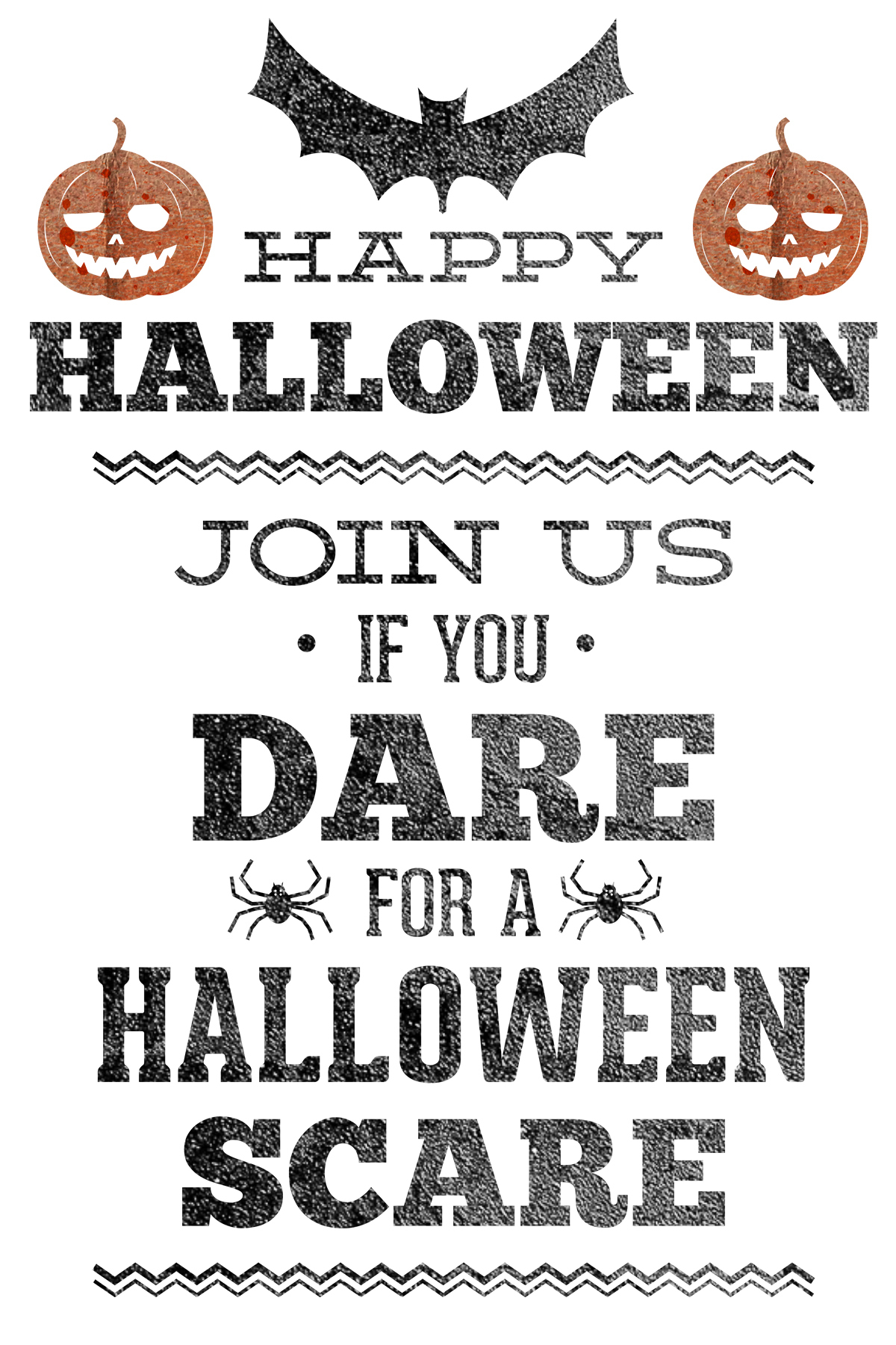 Halloween Party Pack Amazing Free Halloween Party Invitations - Halloween Invitations Free Printable Black And White