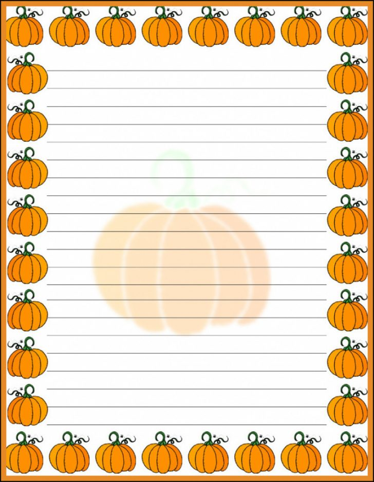 Free Printable Halloween Stationery Borders