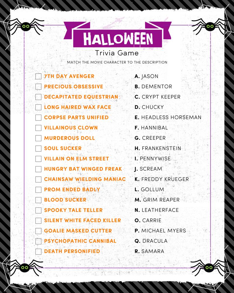 Halloween Trivia Print | Halloween | Pinterest | Halloween Facts - Halloween Trivia Questions And Answers Free Printable