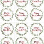 Hand Painted Gift Tags Free Printable | Christmas | Christmas Gift   Diy Gift Tags Free Printable