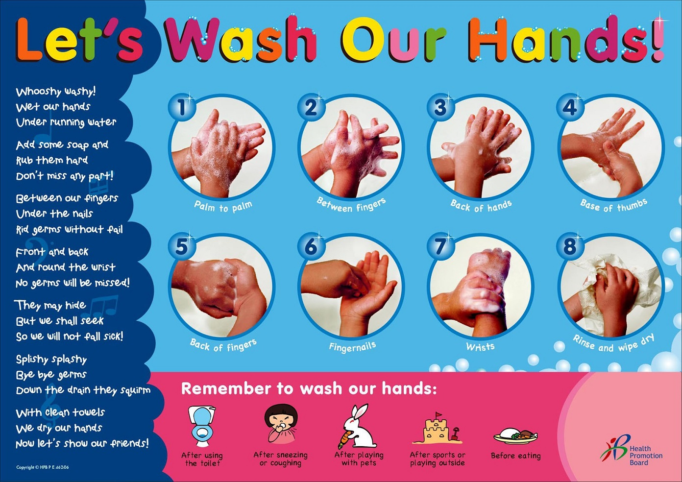 Hand Washing Posters Collection   Personal Hygiene - Free Printable Hand Washing Posters