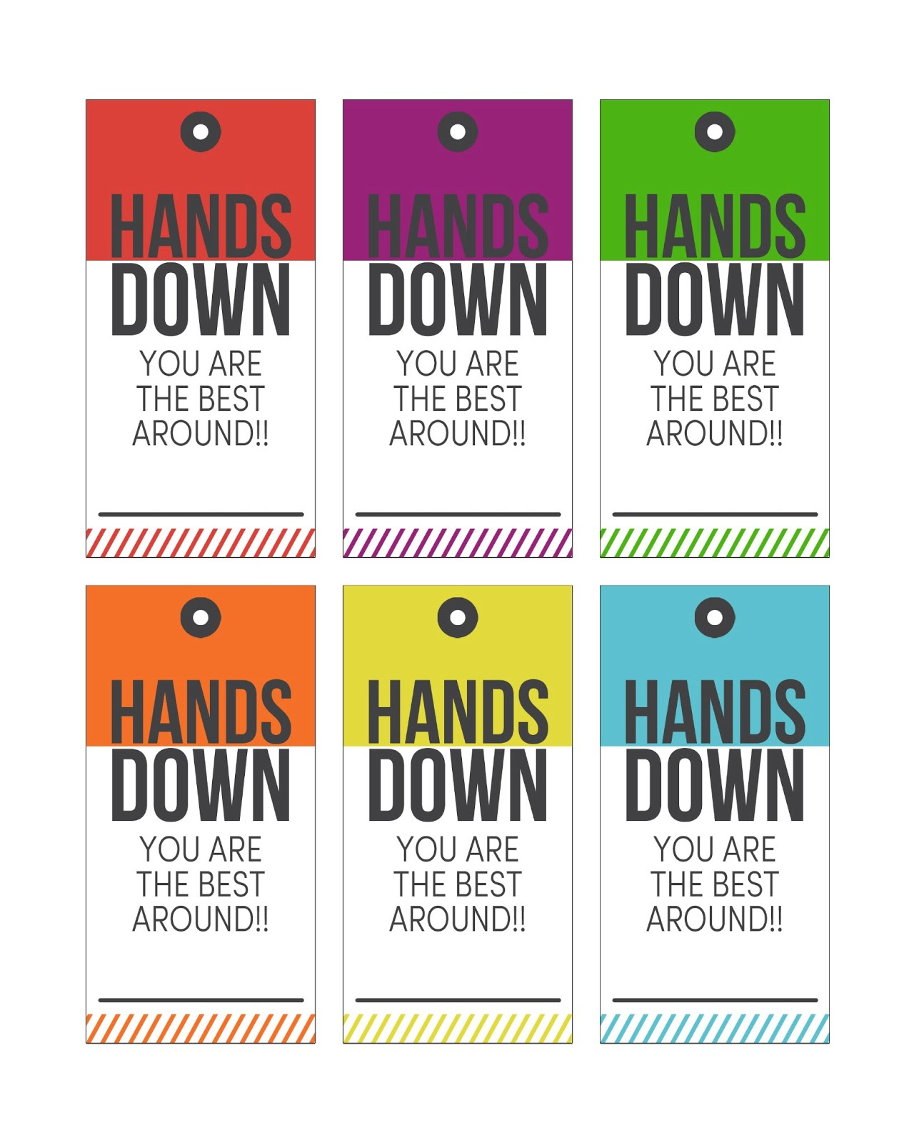 Hands Down Teacher Appreciation Gift - Eighteen25 - Free Printable Tags For Teacher Appreciation