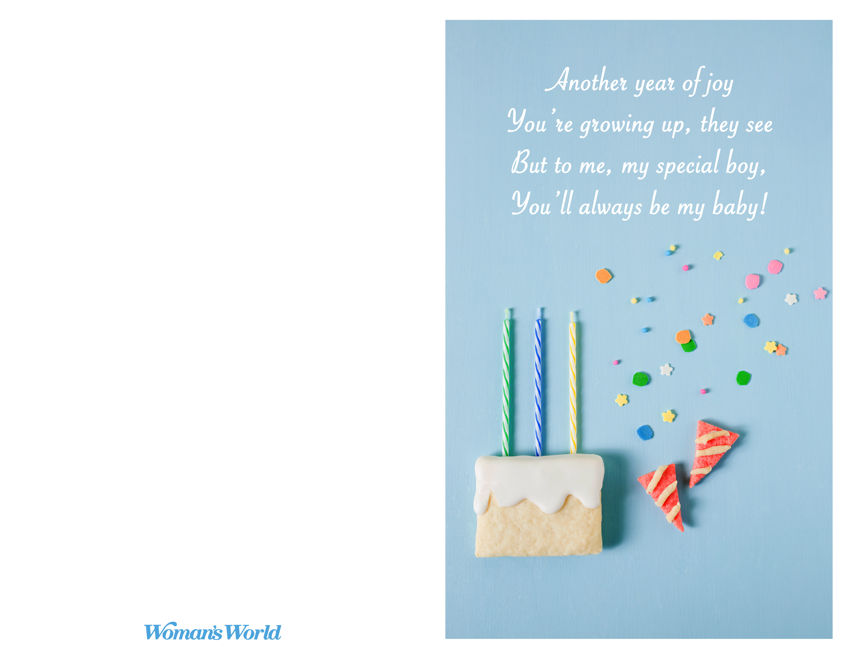 Happy Birthday Son Poems From Mom To Make His Day Special - Woman's - Free Printable Birthday Cards For Mom From Son