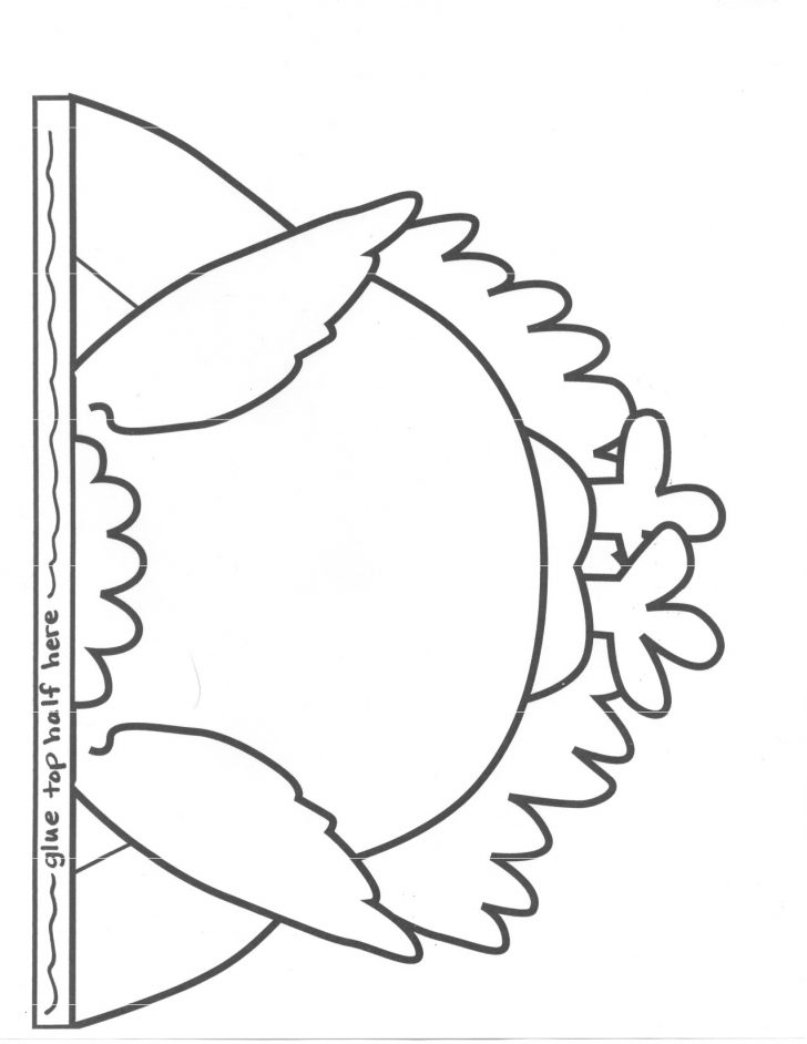 Free Printable Thanksgiving Turkey Template