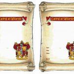 Harry Potter Free Printable Birthday Party Invitations | Birthday   Free Printable Birthday Scrolls