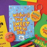 Have A Sweet Rakhi Day   Happy Raksha Bandhan Sweet And Retro 90's   Free Online Printable Rakhi Cards