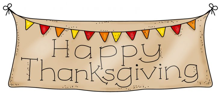Free Printable Happy Thanksgiving Banner